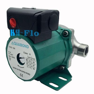 110-120v Stainless Steel Circulation Pump Npt 34 Domestic Circulator Pump