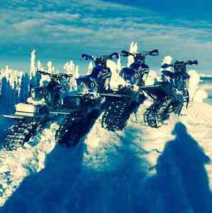 Snowbikes for rent 350 per day