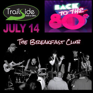 Trailside 80's Night - The Breakfast Club Live