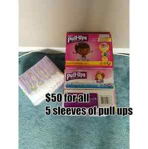 Size 4T - 5T Never opened pull ups