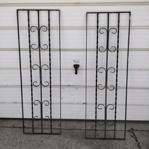 ISO: Wrought iron railing sections (rectangular only)