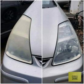 Any Vehicle Headlight Restoration