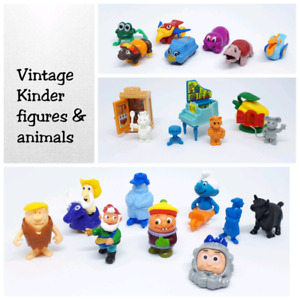 Vintage KINDER SURPRISE toys (from late 1990s |  $4 each set