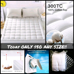 1 DAY SALE!!!! ONLY $50 ANY SIZE Mattress Toppers