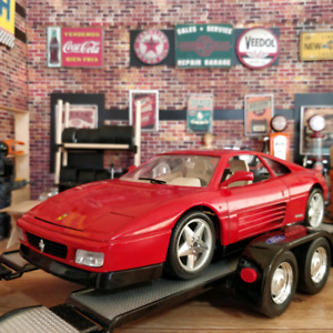 1:18 1989 Ferrari 348 TB Collectible Diecast Car Made in Italy