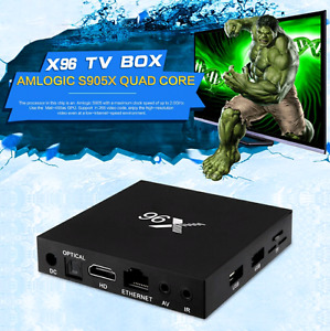 Android 6.0 S905 x chipset  excellent box $95.00 fully loaded