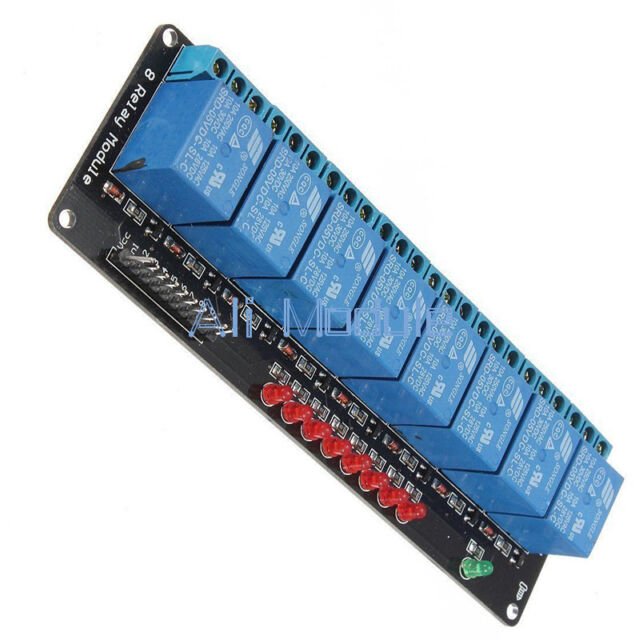 8Channel 5V Relay Module Shield for Arduino Uno Meage 2560 1280 ARM PIC AVR DSP