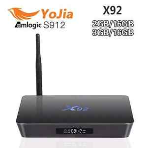 X92 3GB/16GB S912 OCTA CORE TV BOXES
