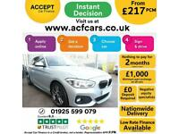 2016 SILVER BMW 120D 2.0 M SPORT DIESEL MANUAL 5DR HATCH CAR FINANCE FR £217 PCM