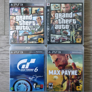 PS3 Games - Prices in the ad