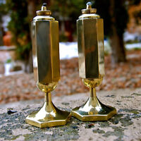 Beautiful Brass Candles