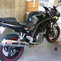 Reduced! WINTER SALE! Low kms! 06 sv650s lots of extras