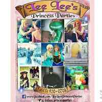 Hire a REAL LIFE princess or Character for a Party or Event