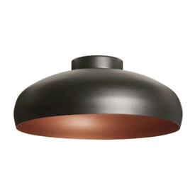 Metal Ceiling Light Eglo Mogano Copper Style