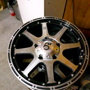 "18"" rims for trade"