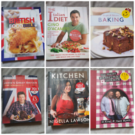 Great Cook Books - Nigella, Jamie, Hairy Bikers ect