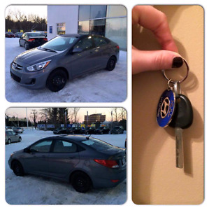 13 500$ LIKE NEW Comme neuve! 2015 Hyundai Accent low Km/ bas Km