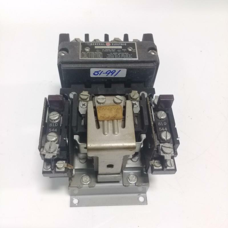 GENERAL ELECTRIC SIZE 1 MOTOR CONTACTOR CR 7006C1010