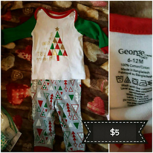 Christmas outfit 6-12m