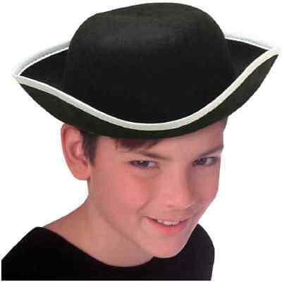 Halloween Costume Corner (Tri-Corner Hat Colonial Pirate Fancy Dress Up Halloween Child Costume)