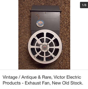 Exhaust fan vintage victor electric products