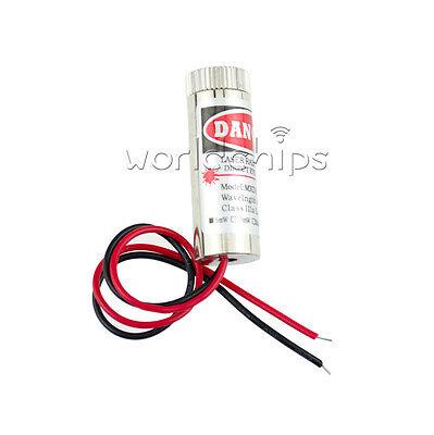 Red Laser Module 5mw 650nm Focus Adjustable Laser Head 5v Industrial Grade