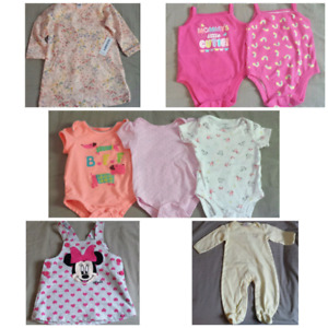 6-9m Baby Girl Clothing Lot