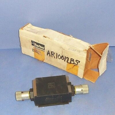Parker Hydraulic Valve Fm3 -20kw New In Box