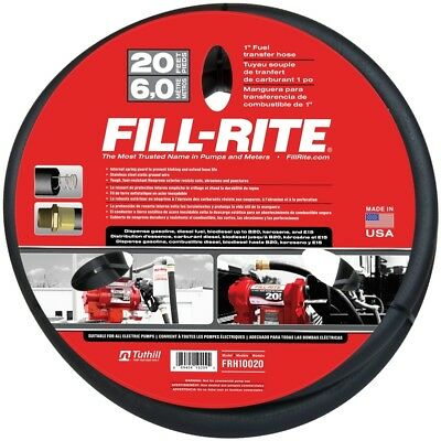 New Tuthill Fill-rite Frh10020 1 X 20 Fuel Pump Transfer Hose 2776102