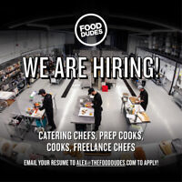 Food dudes catering hiring cooks