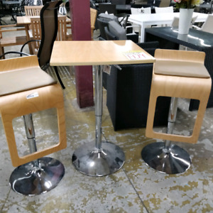 3 piece indoor bar set $129 Great for students