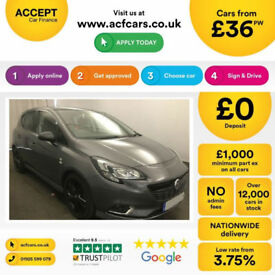 VAUXHALL CORSA 1.4 T SRI VX-LINE SE ENERGY LIMITED EDITION VXR FROM £36 PER WEEK