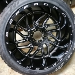 22x12 chevy ford. 6 bolt