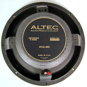"Mint 1980 Altec 12"" x 50 Watt x 8 Ohm , Alone or in Ported Cab."