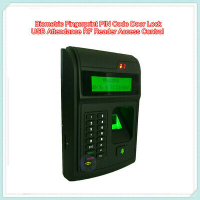 Biometric Fingerprint Pin Code Door Lock Usb Attendance Rf Reader Access Control