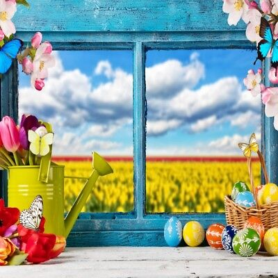 Spring Easter Colorful Photo Backdrops Studio Vinyl Photography Seamless