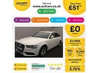 Audi A4 Avant FROM £51 PER WEEK!