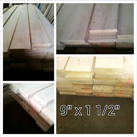 Unbanded Scaffold Boards 3.9m x 225mm x 38mm