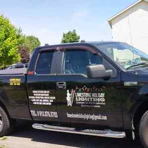 Free holiday lighting & or window painting quote Kingston Kingston Area image 8