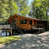 Lots of weekday bookings available to enjoy Muskoka fall colours