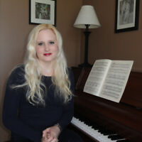 Piano, Voice, and Composition Lessons - In Studio or At Home
