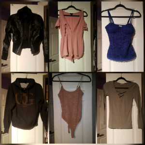 Brand name clothes gently used $5 $10 $15