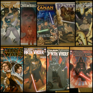 Star Wars Graphic Novels TPB / Comic HC collections