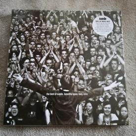 SUEDE 6 LP Box Set WHITE VINYL SEALED MINT