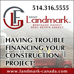 HAVING TROUBLE FINANCING YOUR CONSTRUCTION PROJECT! West Island Greater Montréal image 1