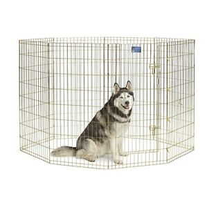 "pet exercise pen 48"" high for large dog"