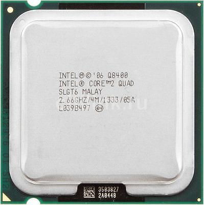 ESP Intel Core 2 Quad Q8400 (4M Cache, 2.66 GHz, 1333 FSB) Socket 775, usado comprar usado  Enviando para Brazil