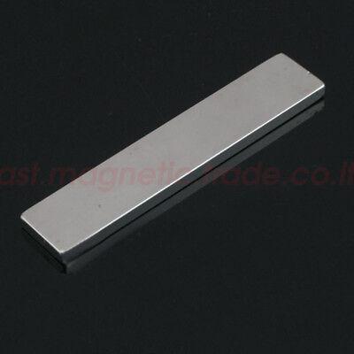 1pcs 100x20x5mm Bar Block Rare Earth Neodymium Permanent Super Strong Magnet N50