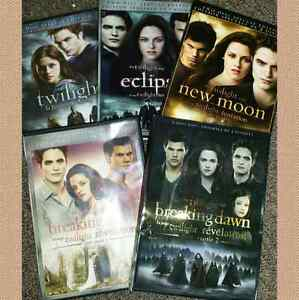 Entire Vampire Twilight 5 DVD Collection + 3 more Hobbit