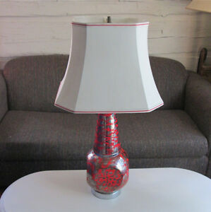 Fantastic Large Mid Century Lamps w/Shades - Price is for each Cornwall Ontario image 2